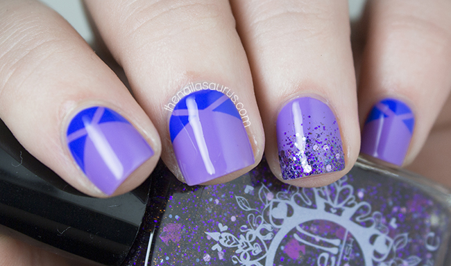 Geometric Nail Art | The Nailasaurus | UK Nail Art Blog