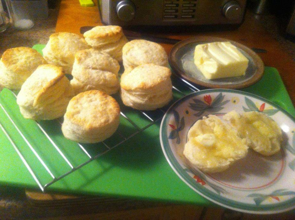 Edye in Newfoundland: Flaky Buttery Biscuits