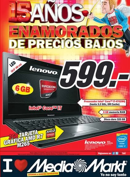 catalogo media markt san valentin 2014