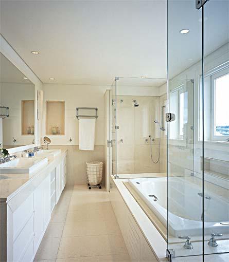 ARQUITED Banheiros com banheira -> Acabamento De Banheiro Com Banheira