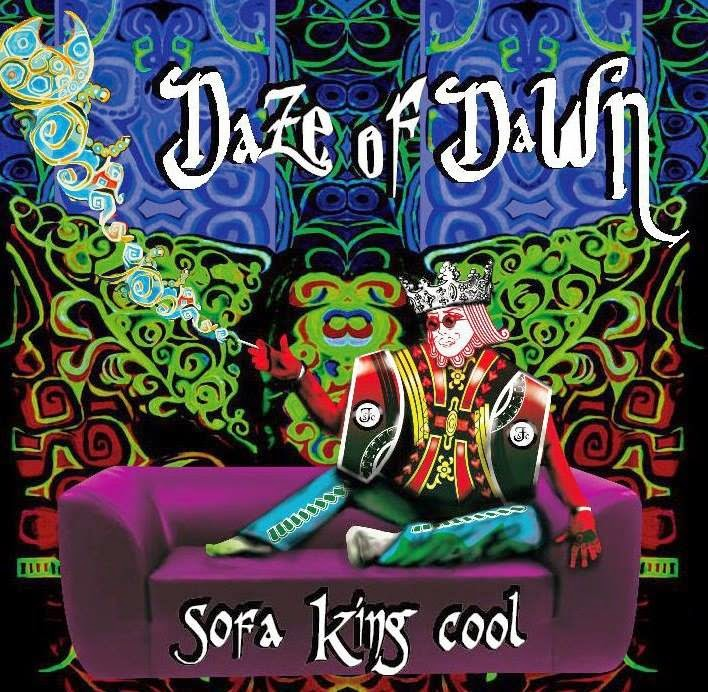 Daze of Dawn Sofa King Cool