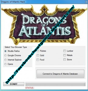 Dragon Atlantis Cheat Engine Facebook Games