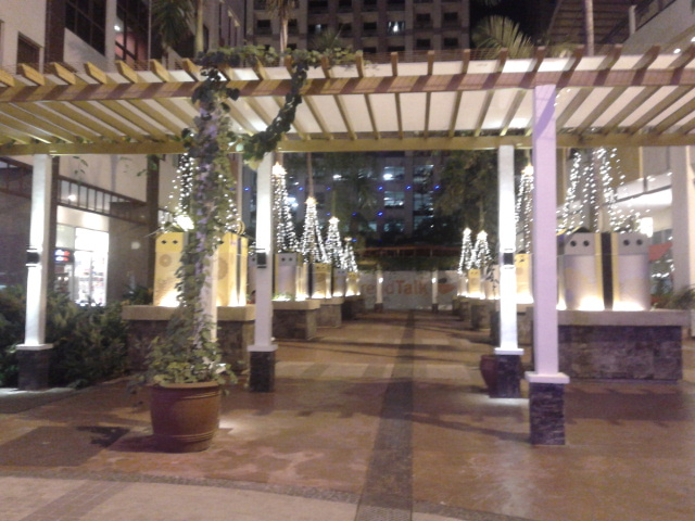 Christmas decorations at Eastwood City, Libis 2012