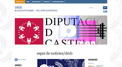 DMB.blog es un espacio de noticias relacionadas con el mundo bandístico.  en directoriopax