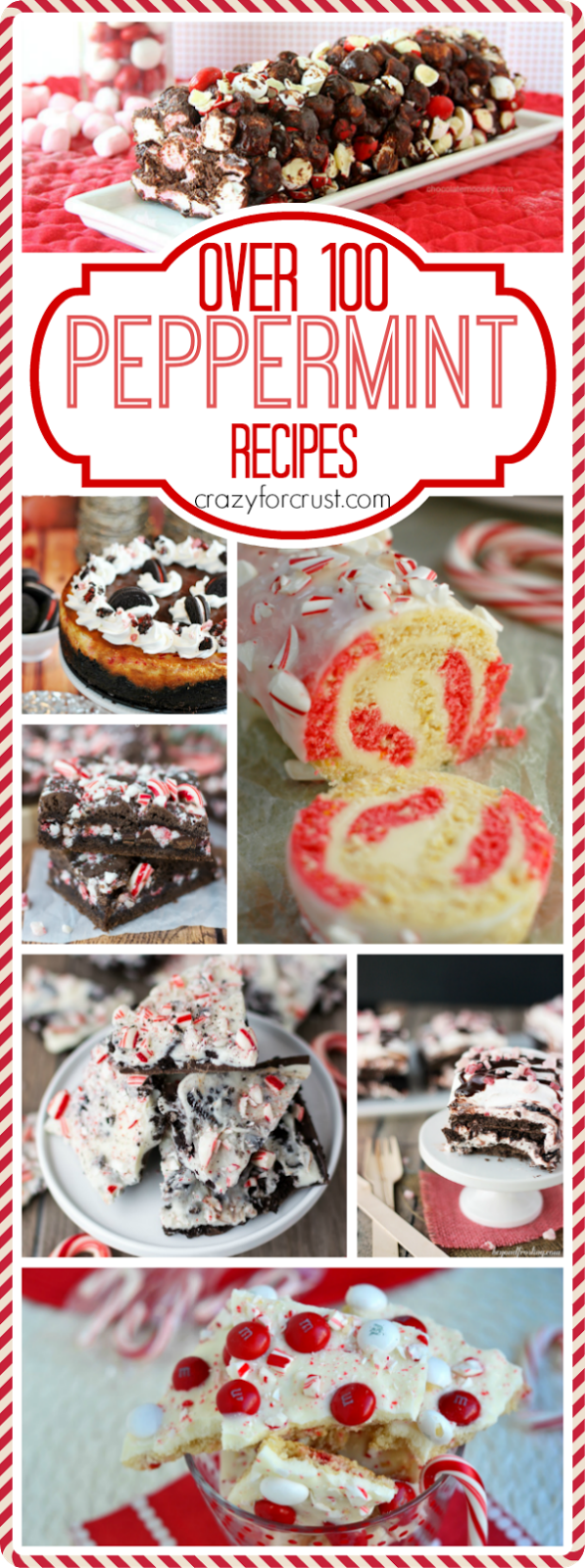 Over 100+ Peppermint Recipes