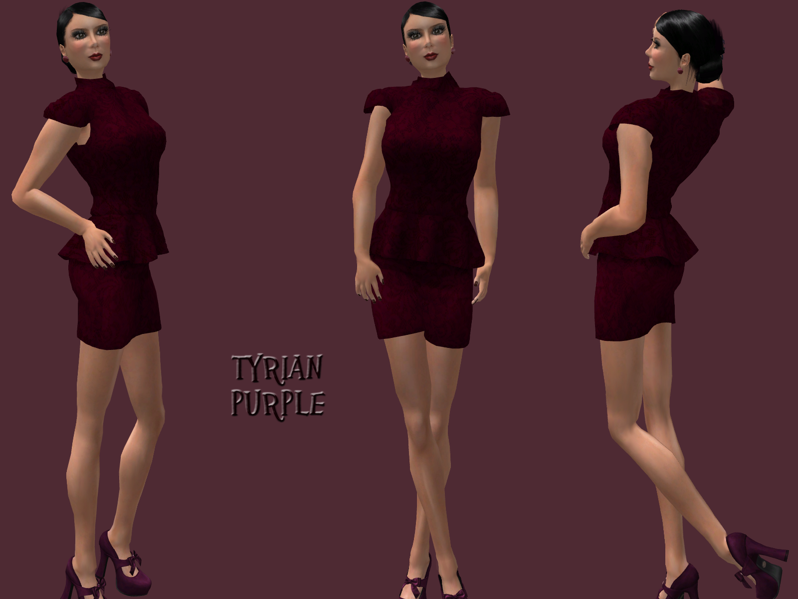 diary of my second life tyrian purple