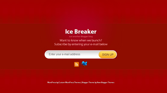 Ice Breaker Red