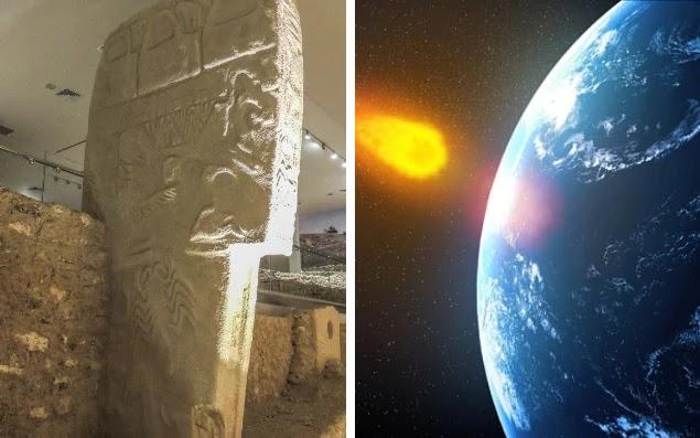 Aρχαία πέτρινα γλυπτά επιβεβαιώνουν πώς κομήτης έπληξε τη Γη to 10.950 π.Χ., πυροδοτώντας την άνοδο των πολιτισμών