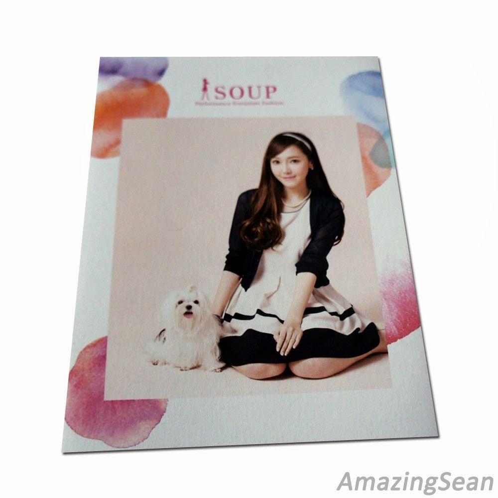 Girls' Generation JESSICA Photo Book, 2014 SOUP S/S Lookbook SNSD SJJD SoShi GG