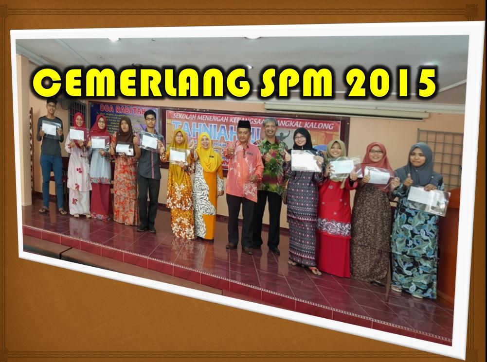 CEMERLANG SPM 2015