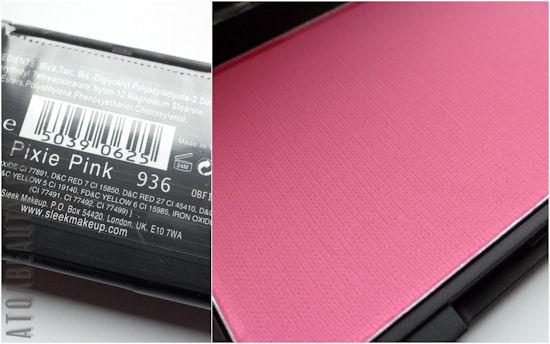 Sleek Makeup Blush, Pixie Pink