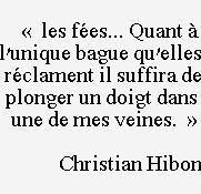 Christian Hibon, extrait in DIX, LES TROPHÉES, Pierre MAINARD ÉDITEUR
