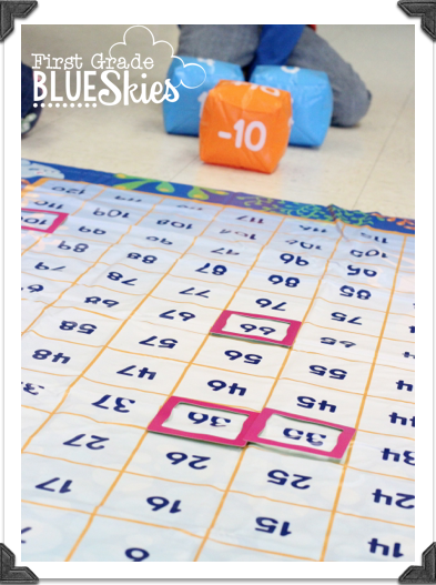 First grade blue skies amazing make a splash 120 mat for Floor mathematics