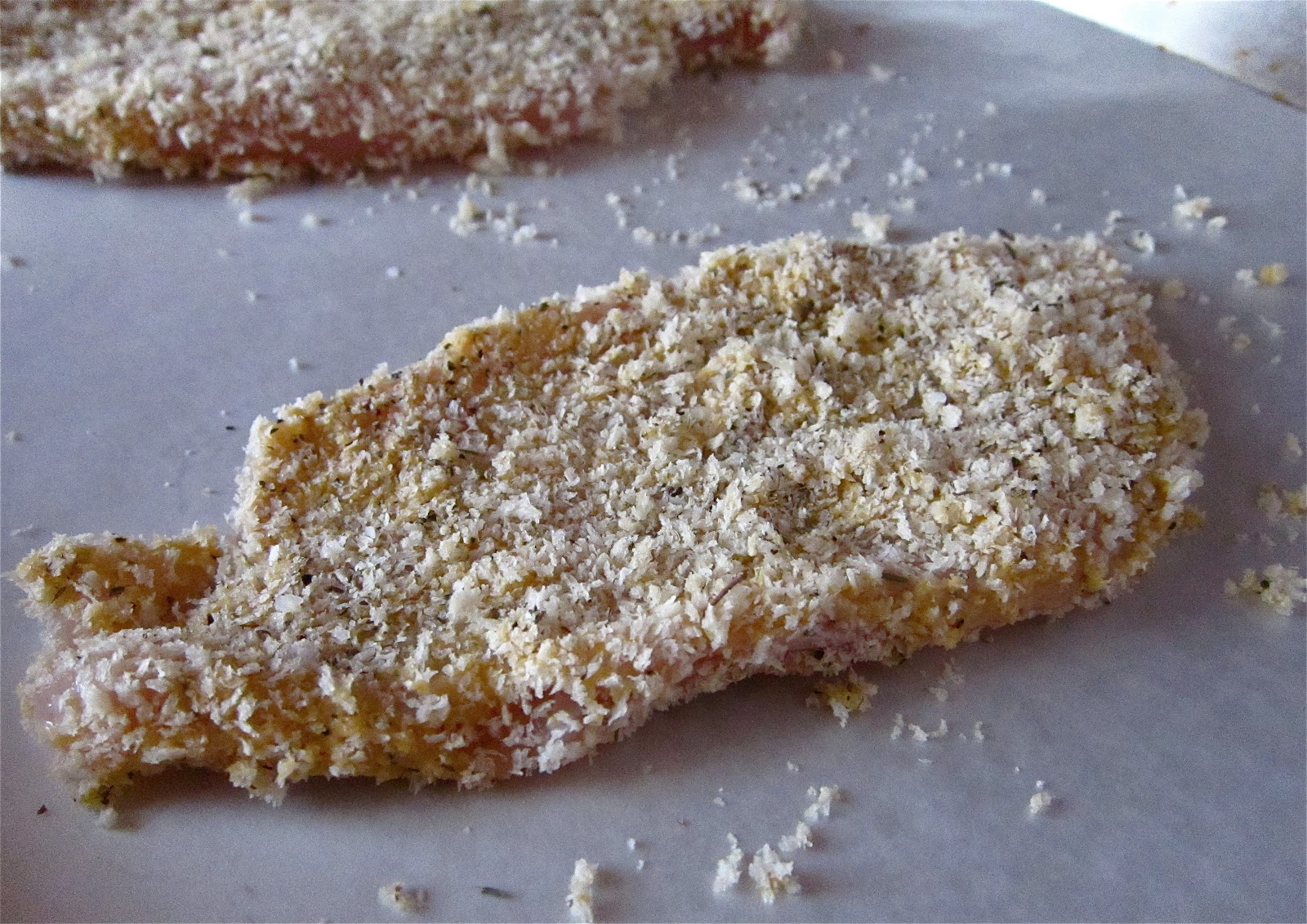 KITCHEN FIDDLER : Panko-Crusted Chicken Cutlets With Dijon Mustard