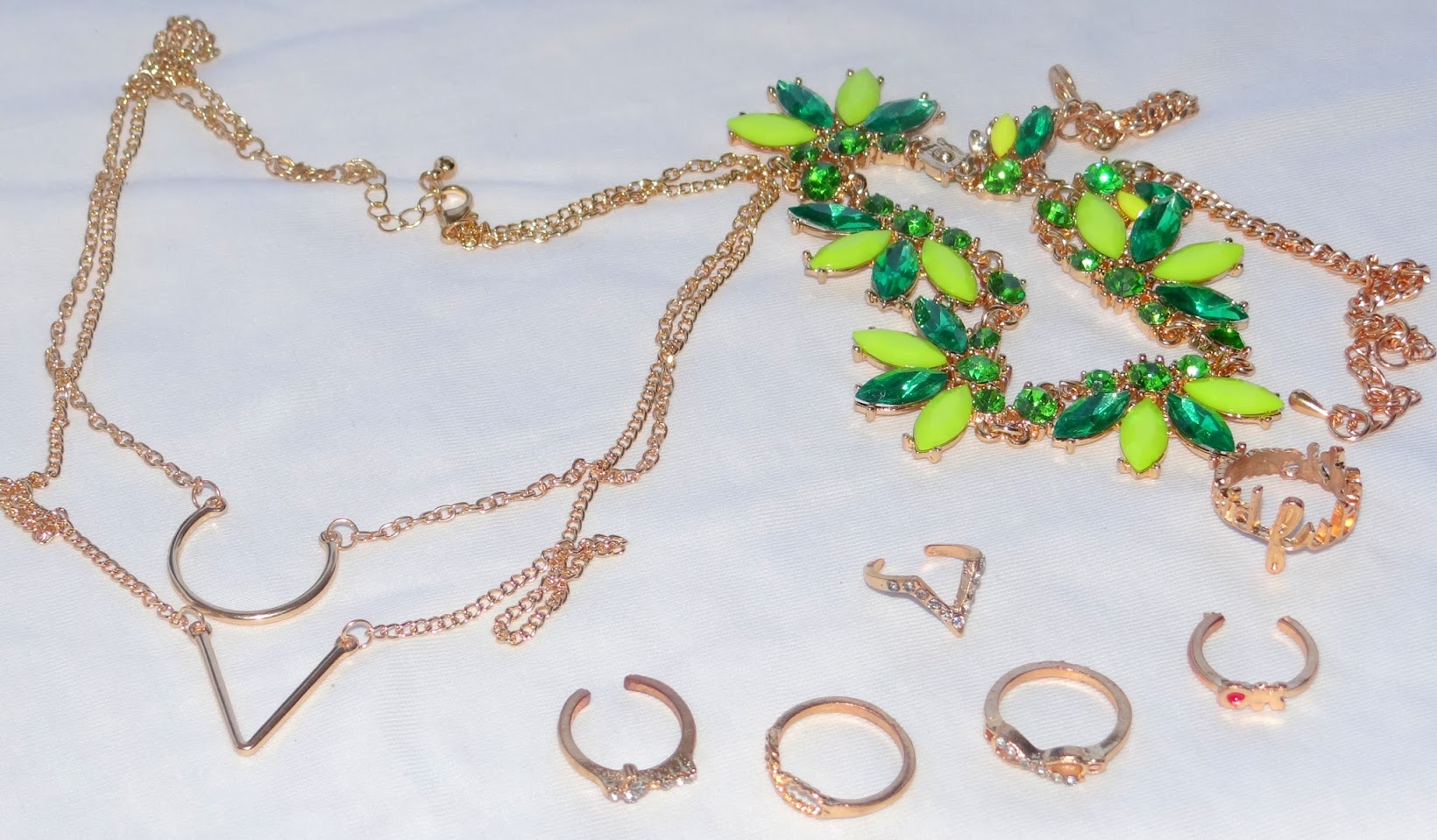 My Born Pretty Store haul- Jewellery again, Chamber of Beauty