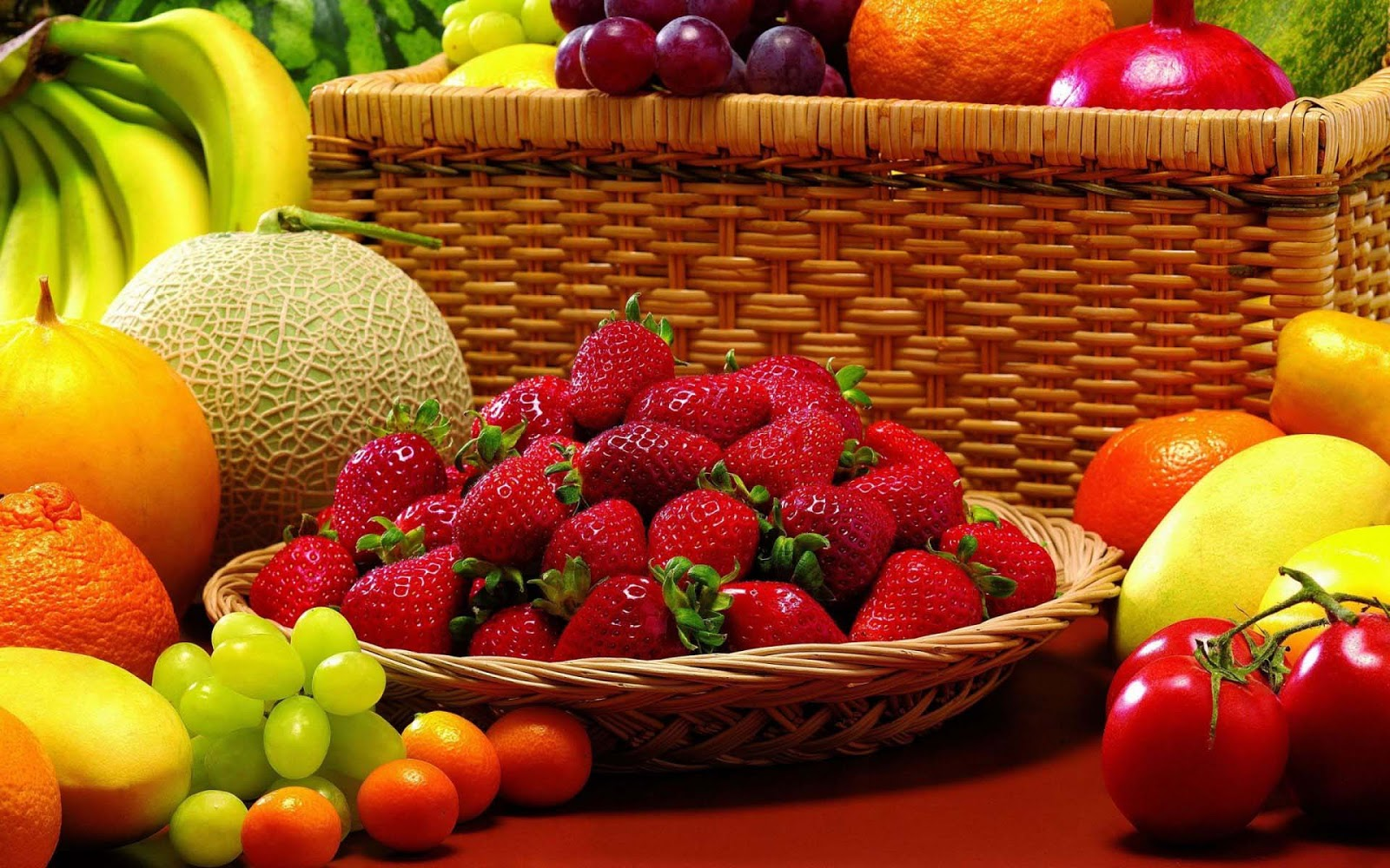 Fruit wallpaper download free - Fruits Strawberry High Quality Images