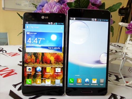 1.Cấu hình của LG Optimus Gk và LG G :