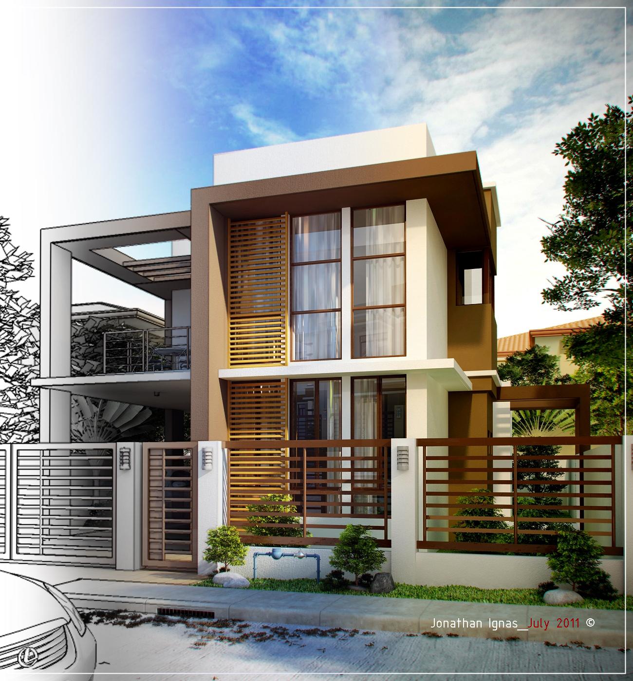 Designanthology exterior rendering 2 for Exterior rendering