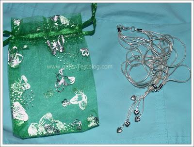 Schlangenkette mit Geschenkbeutel