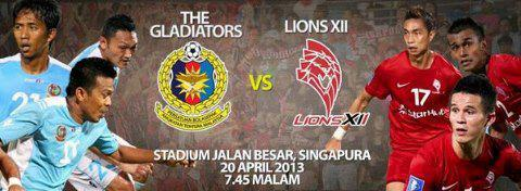 Keputusan ATM vs Lions XII 20 April 2013 - Liga Super 2013