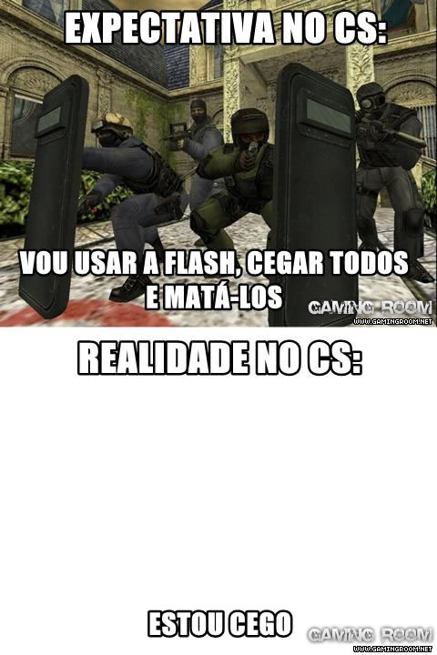 Flash No Counter-Strike: Expectativa X Realidade
