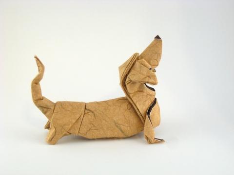Origami dog instructions advanced