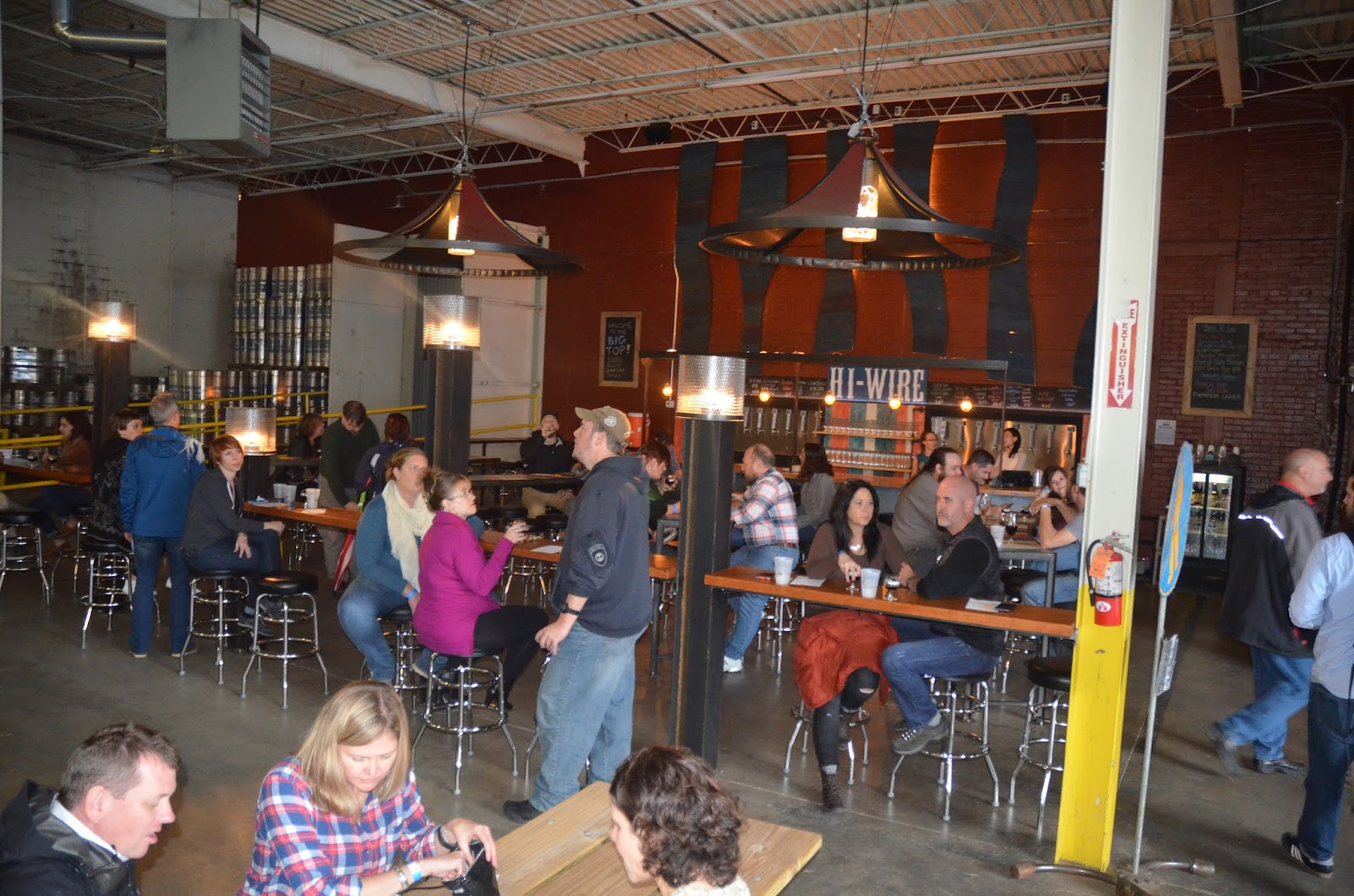 Sweetwater purchases pyramid brewing equipment plans to build second - Hi Wire S Big Top Brew House Pub Is A Good Size For Eventsl