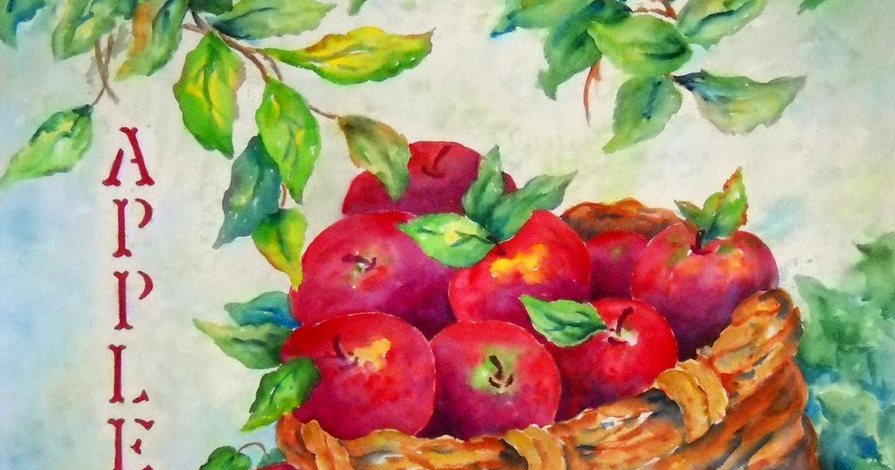 Martha Kisling Art With Heart   Country Apples And My Mom