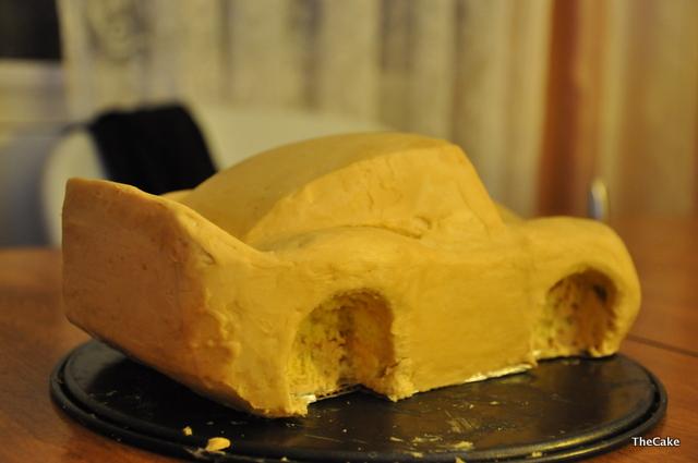 Мастер класс торта машинка