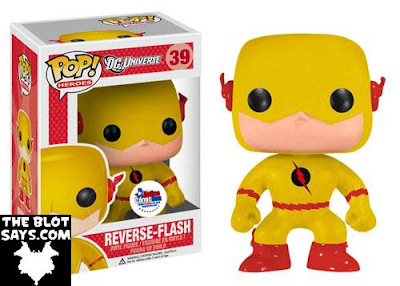 Dallas Comic Con 2013 Exclusive Reverse Flash Standard Edition Pop! Heroes Vinyl Figure by Funko