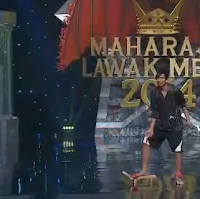 Nabil Video Maharaja Lawak Mega 2014 Minggu 12 Separuh Akhir Tugasan 1