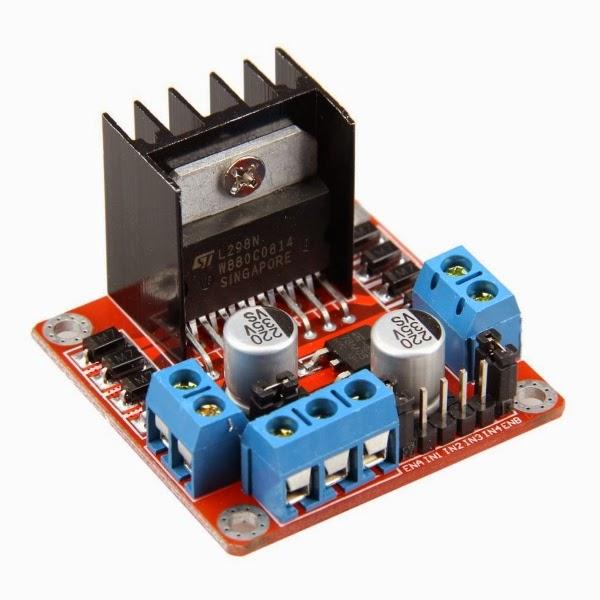 Ponte H L298N Arduino