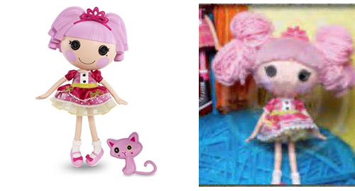 lalaloopsy jewel yarn hair