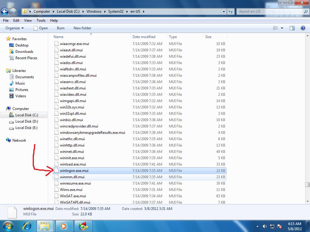 Скачать файл winlogon exe windows 7