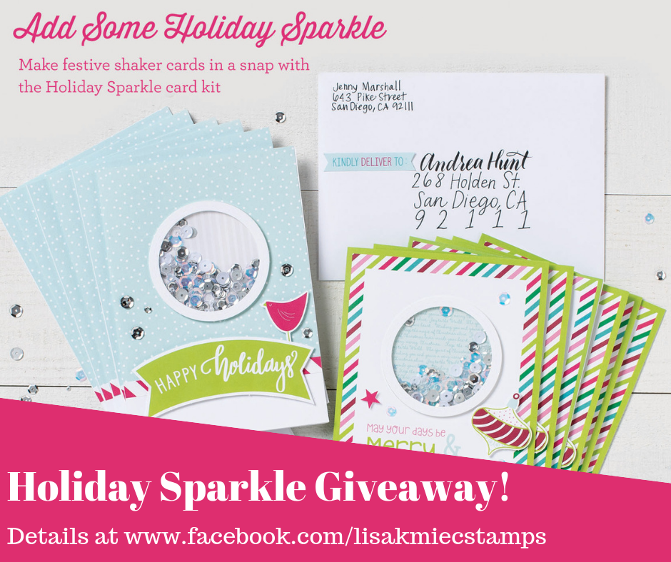 Holiday Sparkle Giveaway!