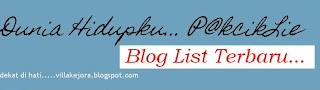 Bloglist Dunia Hidupku Bersama PCL