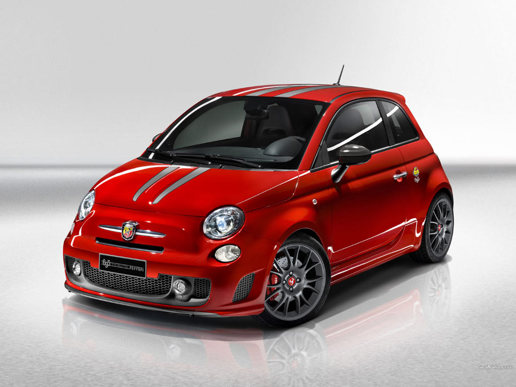 Auto Cars Wallpapers: Fiat 500 Abarth Wallpaper