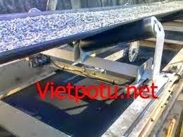 băng tải cao su trong sản xuất đá