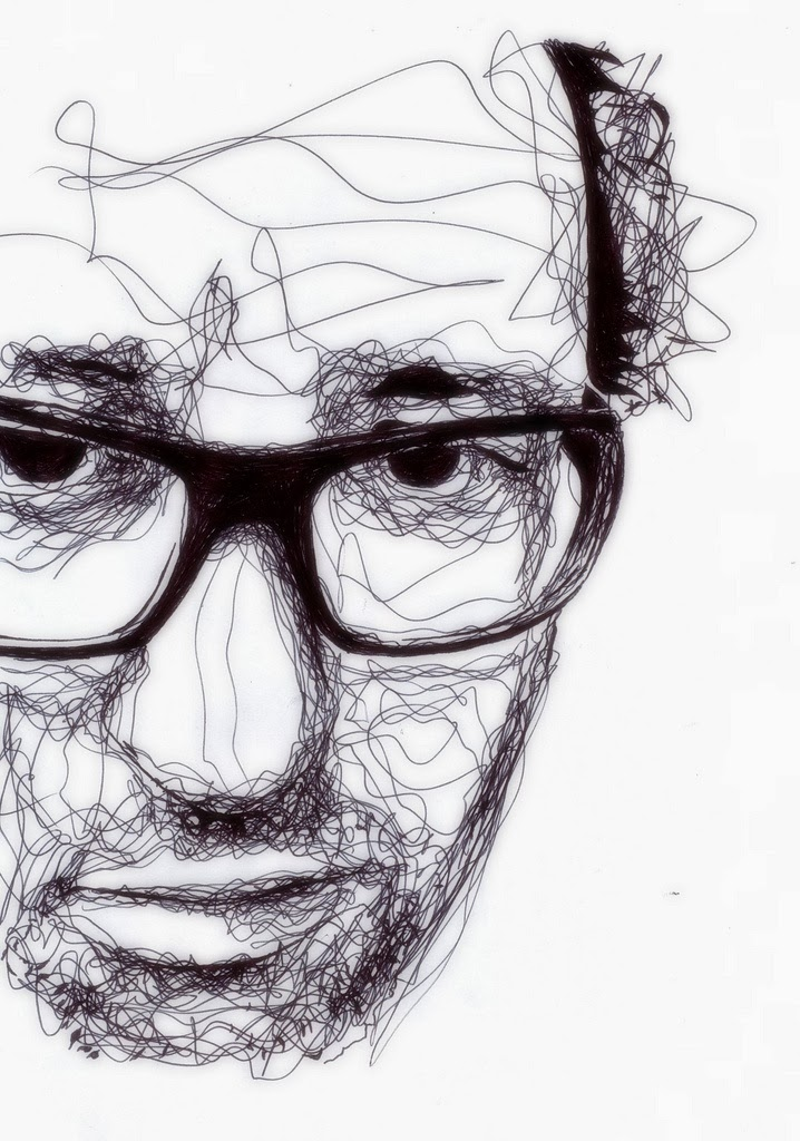 Continuous Line Drawing Of A Face : A thing of beauty is joy forever kris trappeniers