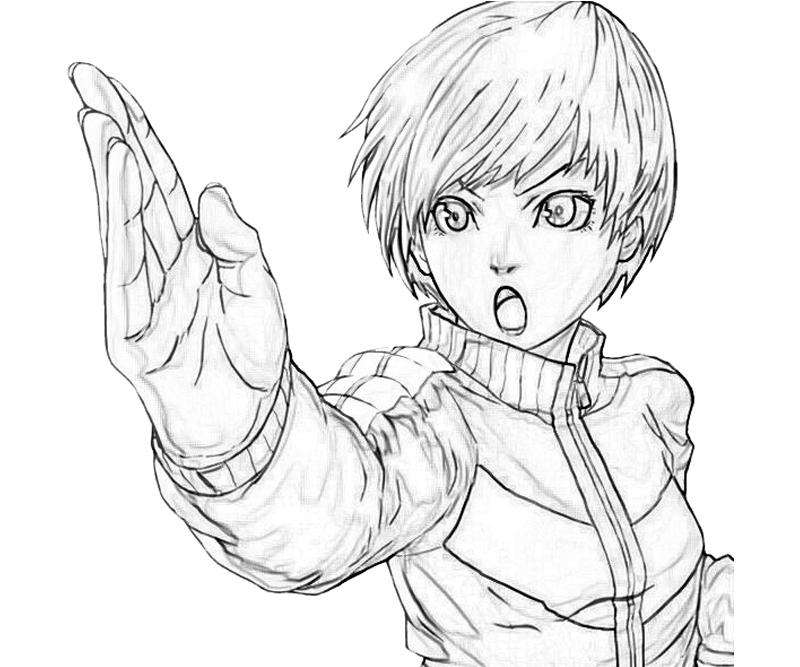 printable-chie-satonaka-skecth_coloring-pages-3