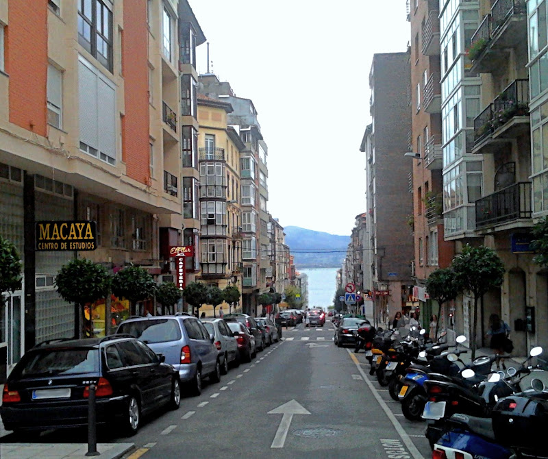 Calle Lope de Vega en Santander