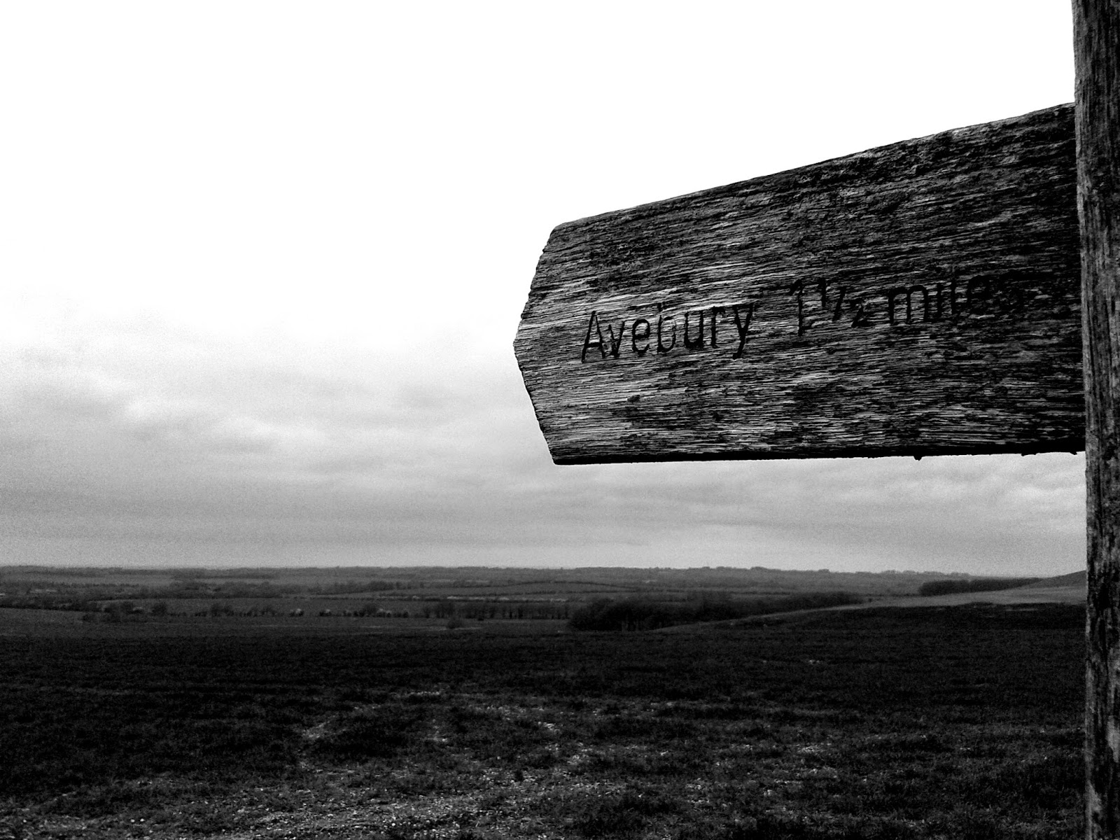 The Ridgeway near Avebury - The B&W Photography Project // 76sunflowers