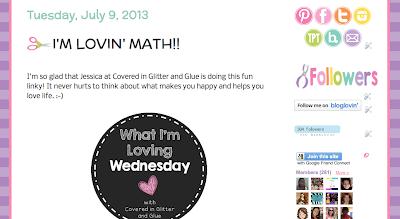 http://craftofteaching.blogspot.com/2013/07/im-lovin-math.html
