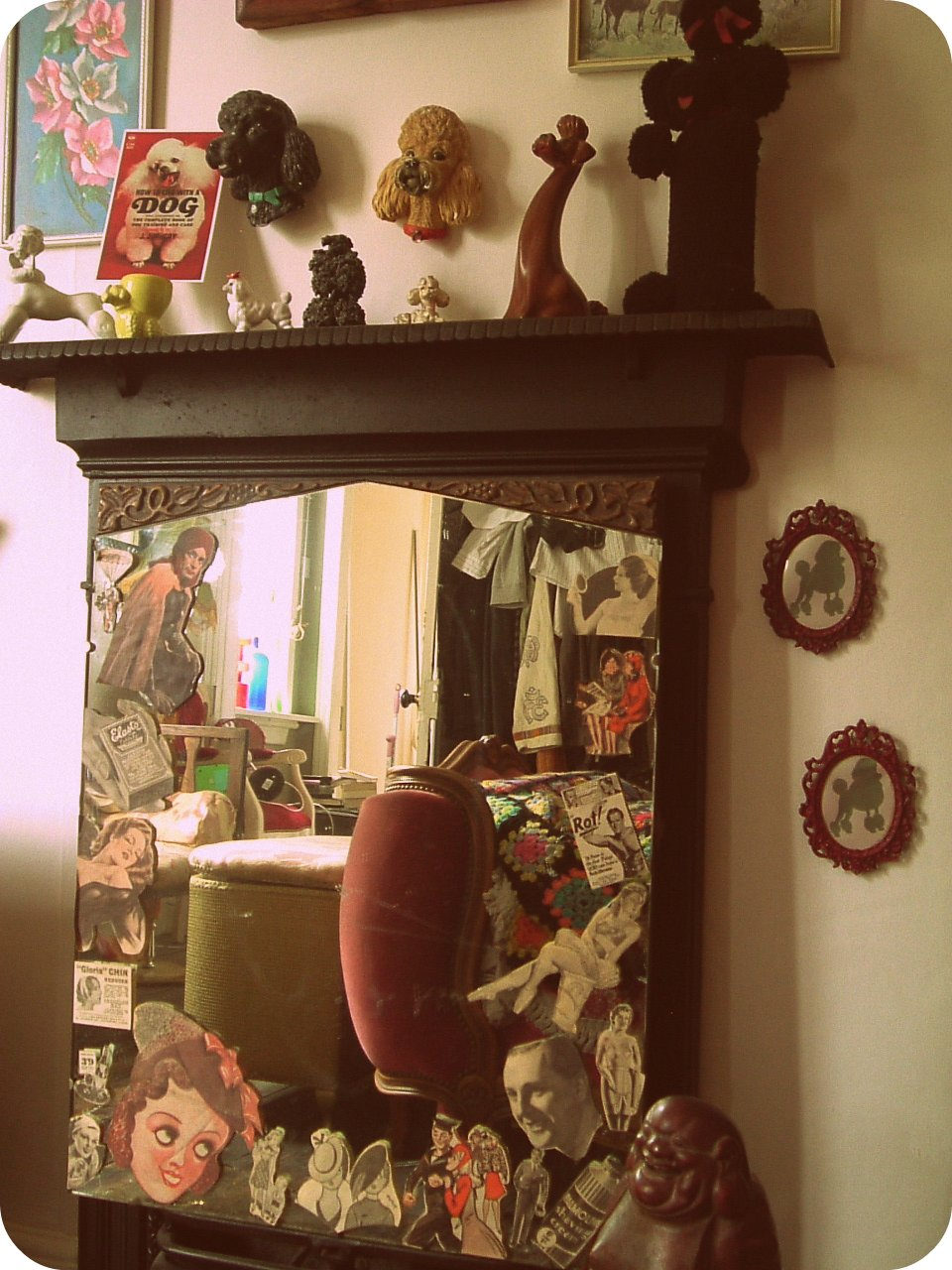 Vintage Vixen Fancy Some Bedroom Action