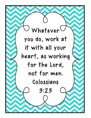 gwhizteacher, ID badge verse Colossians 3:23,
