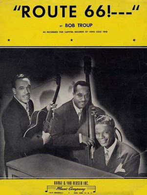 Sheet Music Route 66  by Bob Troupe