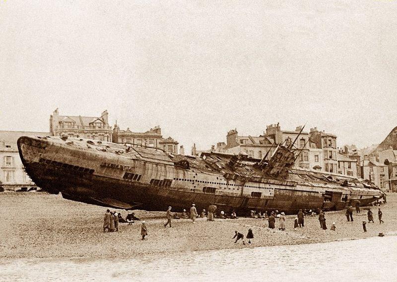 El U-118, el submarino alemán de Hastings | Inglaterra