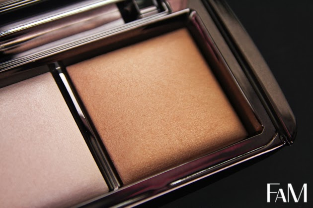 Hourglass Ambient Lighting Powder Palette Radiant light- Swatches and Review