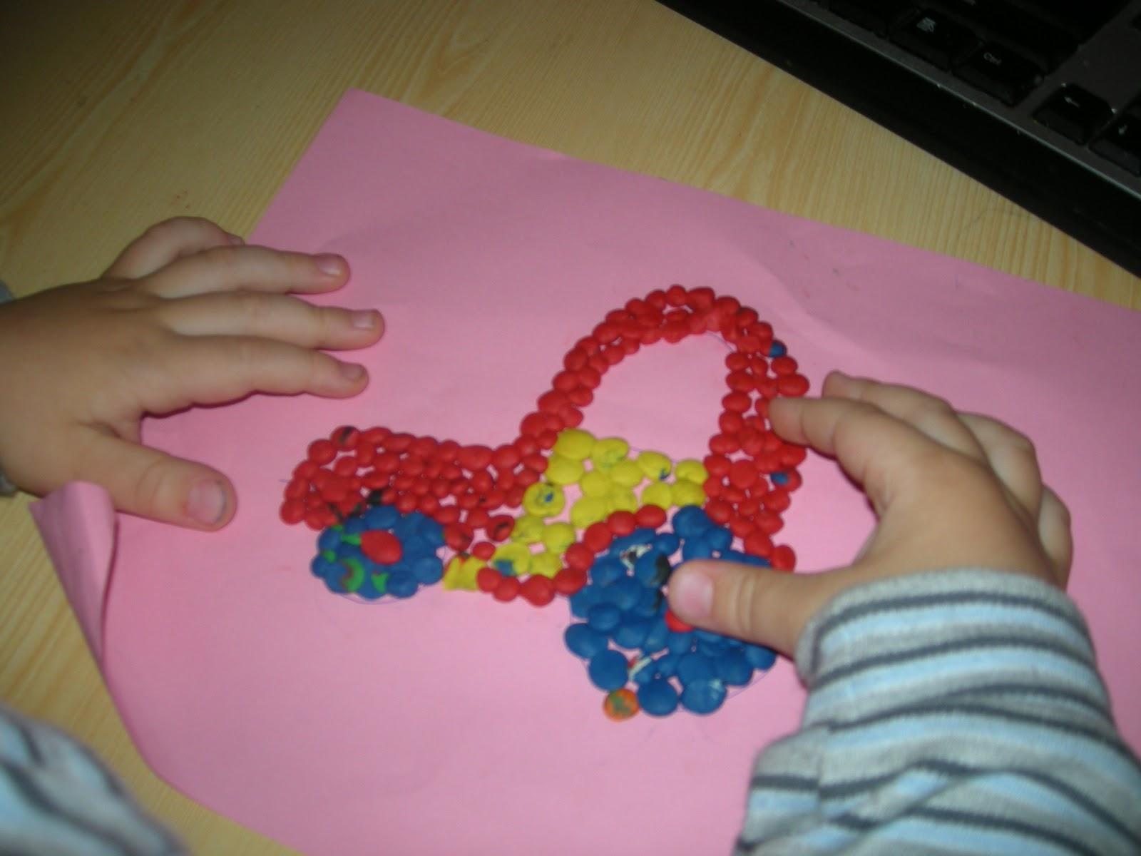 Поделки из пластилина своими руками с детьми 869