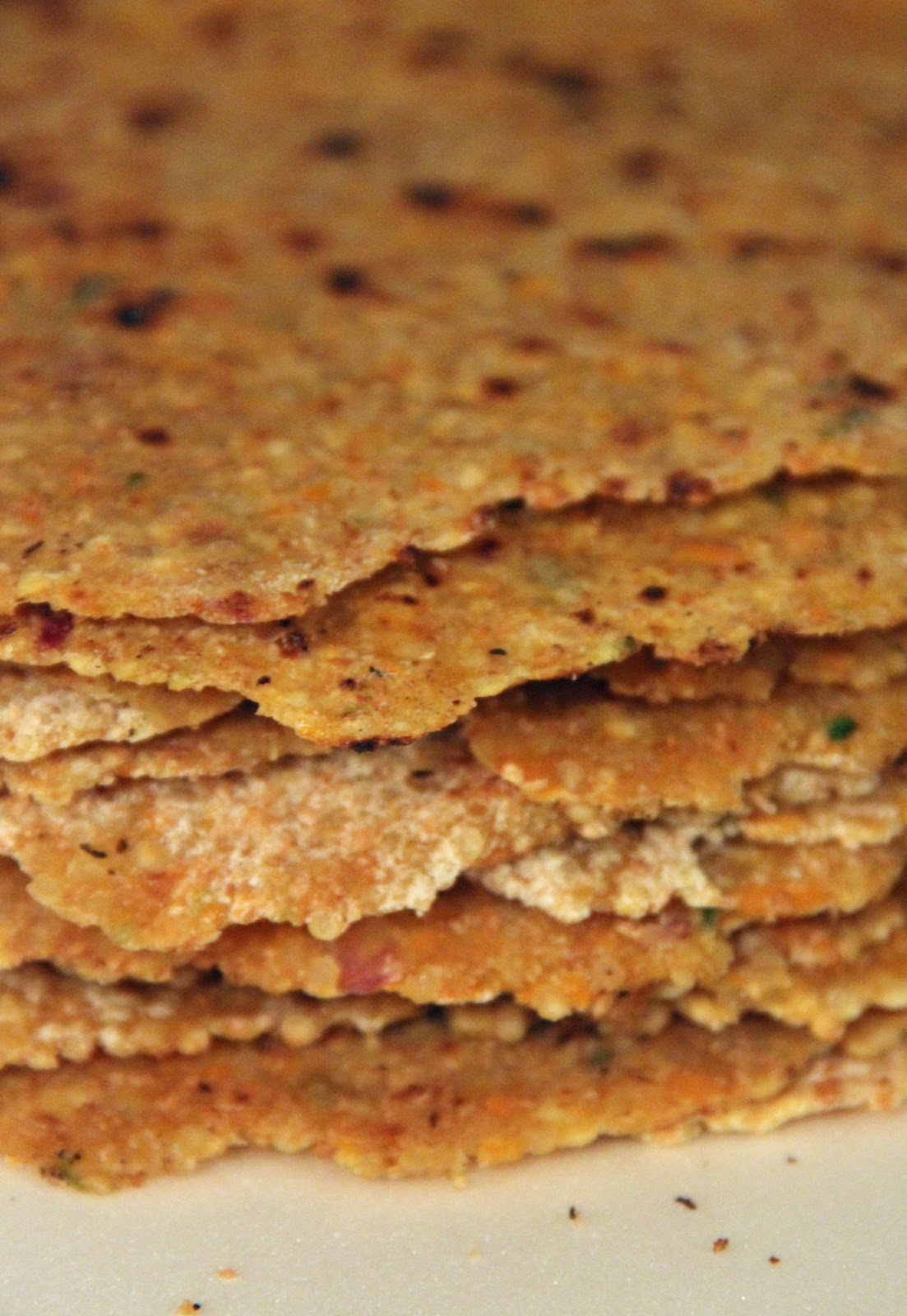 Jo and Sue: Quinoa Flatbread